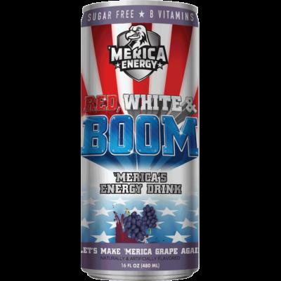 'Merica Energy Drink - Lets Make 'Merica Grape Again [USA] 480ml