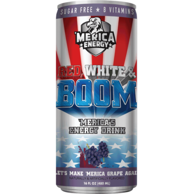 'Merica Energy Drink - Lets Make 'Merica Grape Again [USA] 480ml