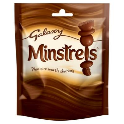 Galaxy Minstrels Chocolate Pouch 125g