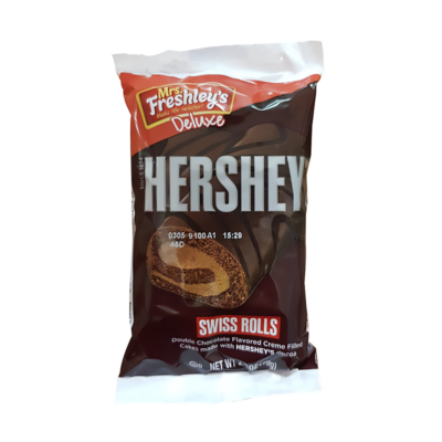 Hershey's Double Chocolate Swiss Rolls 79g