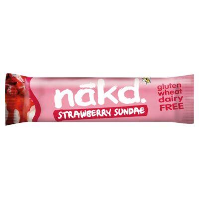 Nakd Strawberry Sundae Fruit & Nut Bar 35g