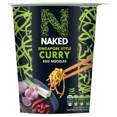 Naked Noodle Singapore Curry Noodle Pot 78g