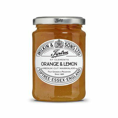 Tiptree 'St Clements' Orange & Lemon Marmalade (Medium Cut) 340g