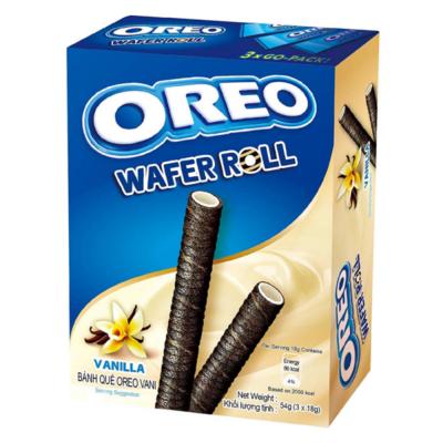 Oreo Wafer Roll Vanilla 3x18g