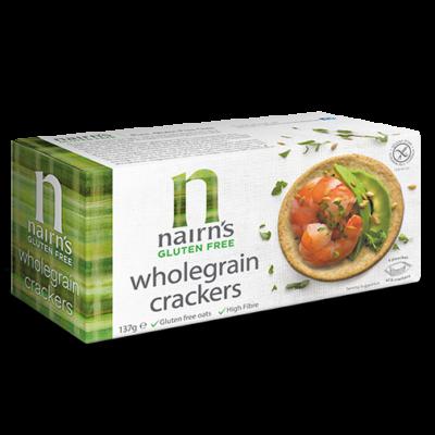 Nairns Gluten Free Wholegrain Crackers 137g