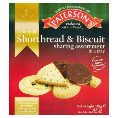 Paterson's  Shortbread & Biscuit Assortment 185g