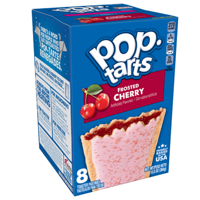 Kellogg's Pop Tarts Frosted Cherry 384g