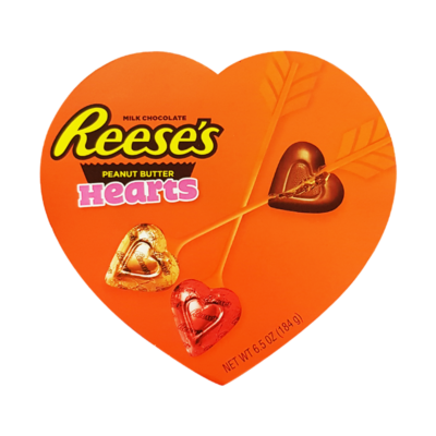 Reese's Peanut Butter Hearts Gift Box [USA] 184g