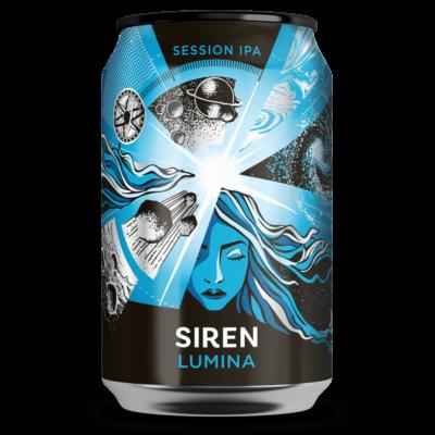 Siren Lumina  - Session IPA  (4.2%, 330ml dobozos)