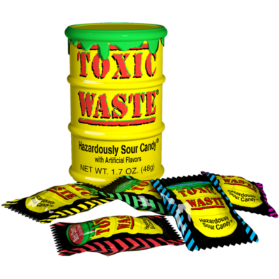 Toxic Waste Yellow Drum Extreme Sour Candy [USA] 42g