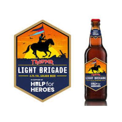 Trooper Light Brigade Golden Ale (500ml, 4.1%)