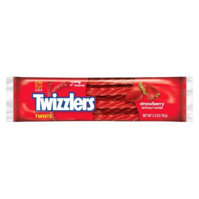 Twizzlers Strawberry Twists Standard Bar [USA] 70g