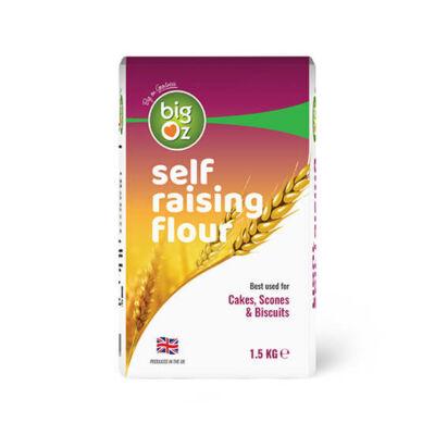 Big Oz Self Raising Flour 1kg