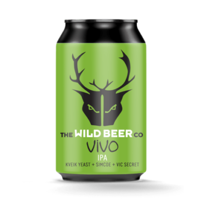 Wild Beer Co - VIVO - Kveik Yeast IPA (4.9%, 330ml dobozos)