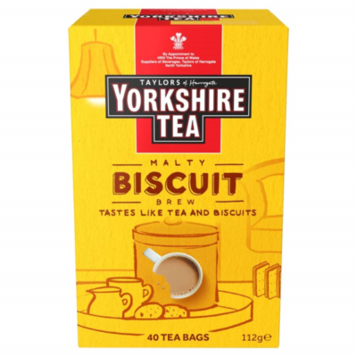 Yorkshire Tea Biscuit Brew 40 db filter