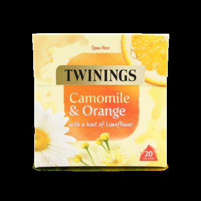 Twinings  Camomile & Orange (Kamilla és narancs) Tea 20 db filter