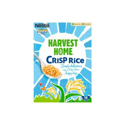 Nestle Harvest Home Crisp Rice 550g