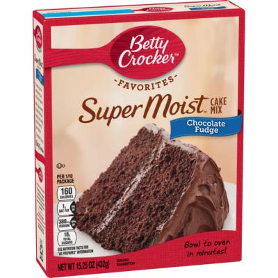 Betty Crocker™ Super Moist™ Favorites Chocolate Fudge Cake Mix  [USA] 432g