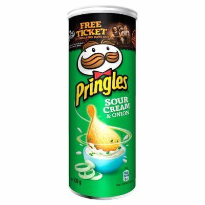 Pringles Sour Cream & Onion 130g