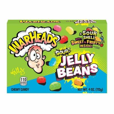 Warheads Sour Jelly Beans [USA] 113g