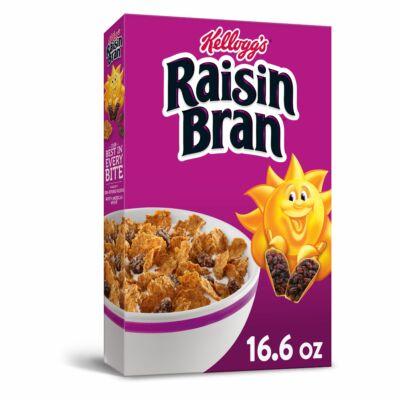 Kellogg's Raisin Bran Breakfast Cereal [USA] 471g