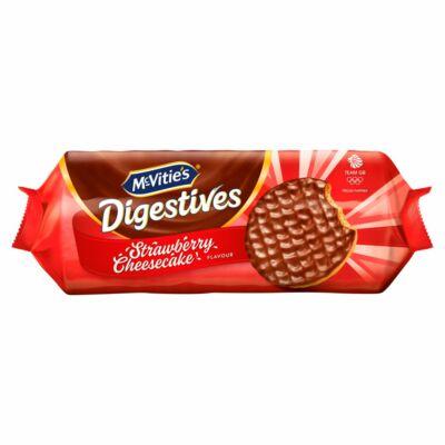 Mcvities Chocolate Digestive Strawberry Cheesecake 243g