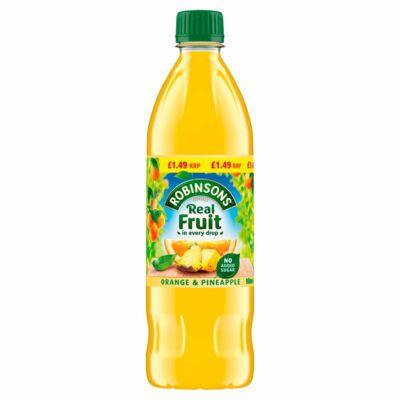 Robinsons Orange & Pineapple NAS Squash 1 liter