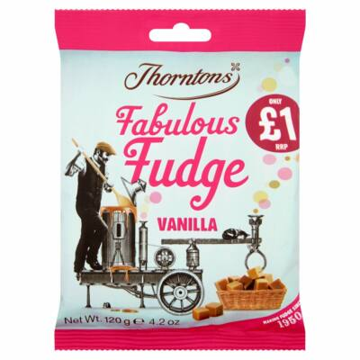 Thorntons Vanilla Fudge 120g