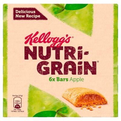 Kellogg's Nutri-Grain Apple -  Almaízû Müzliszelet 6 pack