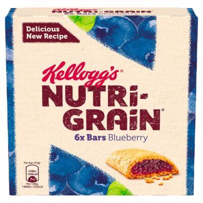 Kellogg's Nutri-Grain Blueberry Kékáfonyás Nutrigrain 6x37g