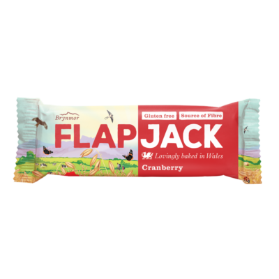 Brynmor Flapjack Cranberry 80g