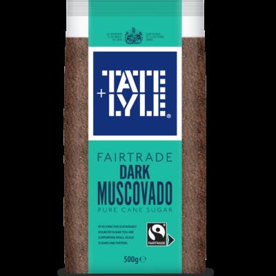 Tate & Lyle Fairtrade Dark Muscovado Sugar 500g