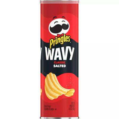 Pringles Wavy Original Potato Crisps  [USA] 130g