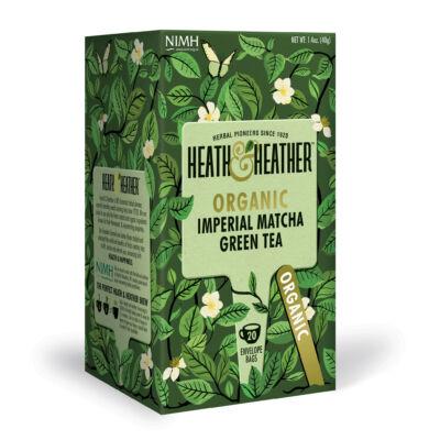 Heath & Heather Organic Imperial Matcha Green Tea 20 db filter