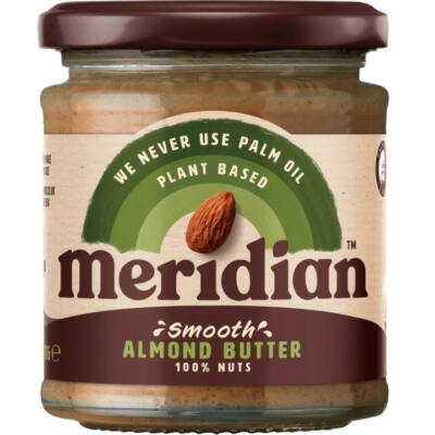 Meridian Smooth Almond Butter (mandulavaj) 100% 170g