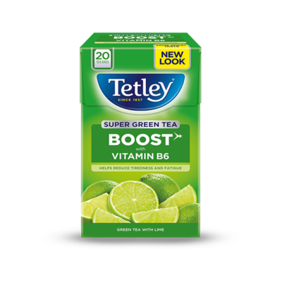 Tetley Super Green Vitamin B Lime Tea 20 db filter