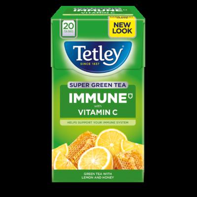 Tetley Super Green Vitamin C Lemon & Honey Tea 20 db filter