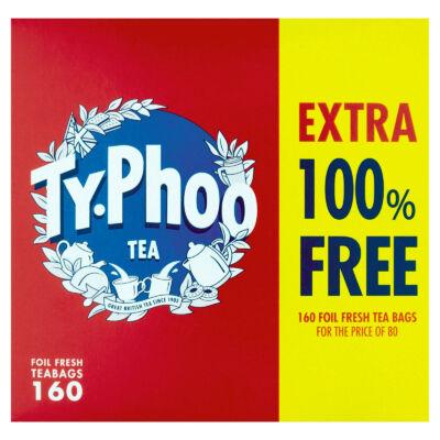 Typhoo Teabags 160 db filter