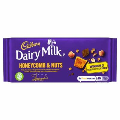 Cadbury Dairy Milk Inventor Honeycomb Chocolate Bar  105g