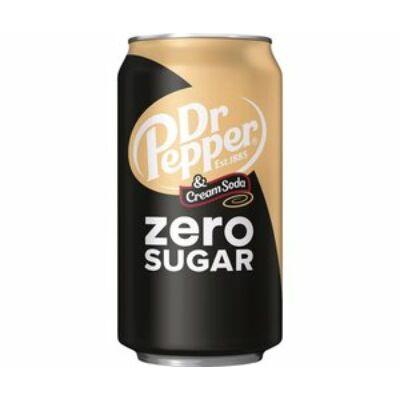 Dr Pepper Cream Soda Zero Sugar [USA] 355ml