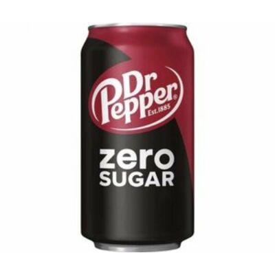 Dr Pepper Zero Sugar [USA] 355ml