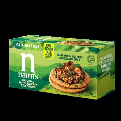 Nairns Gluten Free Wholegrain Crackers 160g