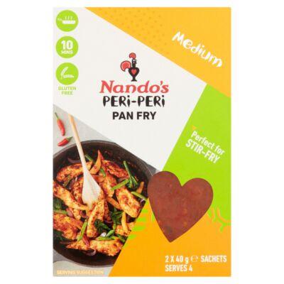 Nando's Peri-Peri Pan Fry Medium 2x40g
