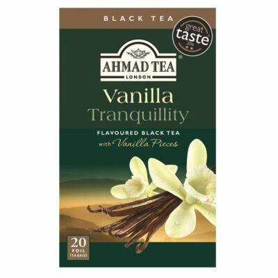 Ahmad Tea - Vanilla Tranquility - vaníliás fekete tea - 20 db filter
