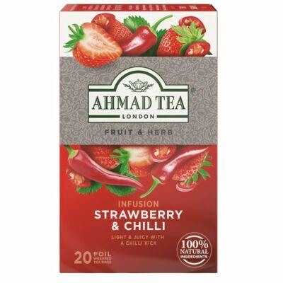 Ahmad Tea  - Strawberry & Chilli (Eper és chili) Tea- 20 db filter
