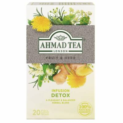 Ahmad Tea  - Detox Tea - 20 db filter