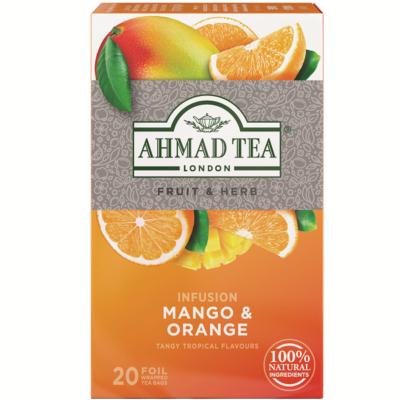 Ahmad Tea  - Mango&Orange (Mangó és narancs) Tea- 20 db filter