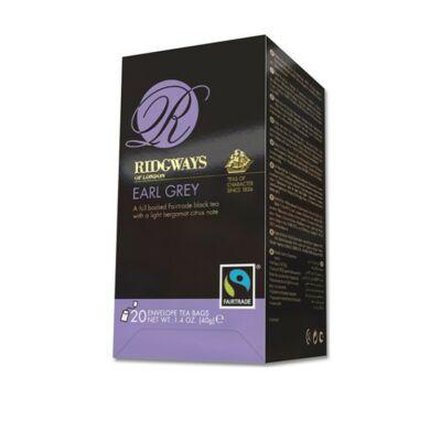 Ridgways Earl Grey Tea - Fairtrade 20 db filter