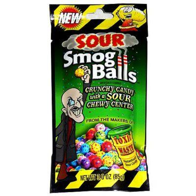 Toxic Waste Sour Smog Balls [USA] 85g