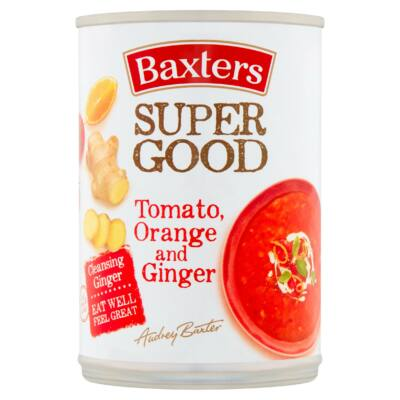 Baxters Super Good Tomato, Orange and Ginger Soup 400g